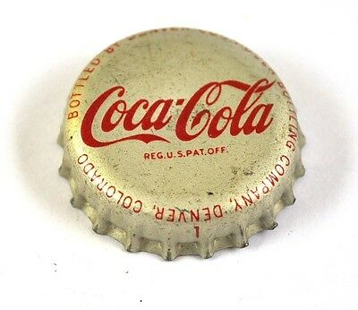 Coca-Cola Coke Kronkorken USA Soda Bottle Cap Korkdichtung - Denver