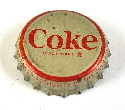 Coca-Cola Coke Kronkorken USA Soda Bottle Cap Korkdichtung - Coke roter Rand