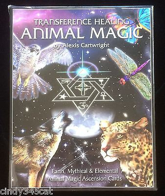 Transference Healing Animal Magic Cartwright Earth Mythical Elemental Cards Book