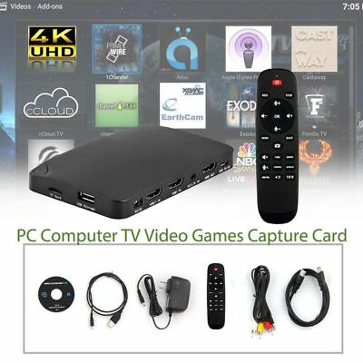 YK 940 4K2K HDMI Capture Box Recording PC Computer TV Video Games Capture Card