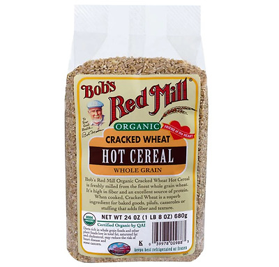 NEW Bob's Red Mill, Organic, Cracked Wheat Hot Cereal, 24 oz (680 g)