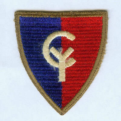Ww2 Us Army 38Th Infantry Division Cut Edge Snow Back Ssi Patch