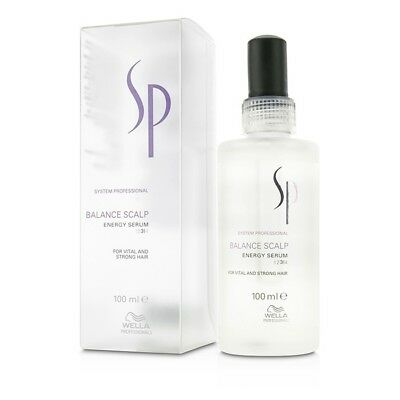 Wella SP BALANCE SCALP ENERGY SERUM (For Vital and Strong Hair) 100ml (one pcs)