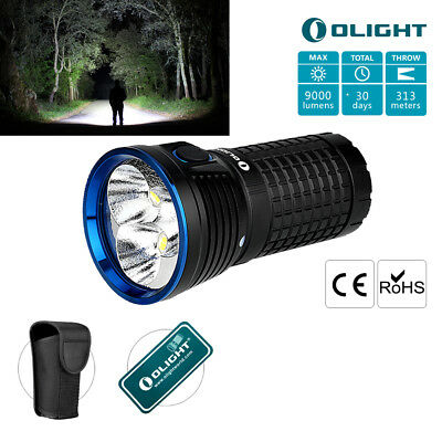 Olight X7 Marauder Max9000LM Taschenlampe 3xCree Neutral White LED Lampe Holster