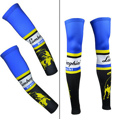 Cycling Running UV Sun Protection Skin Arm Leg Warmers Sleeves Covers Cuff Case