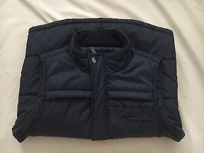 Mossimo M/86 Men's Puffy Zipper And Button Front Vest Size Medium