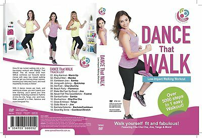 Beginners Zumba Dance Workout Videos Total Fitness Training 5 Slimdown Body DVD