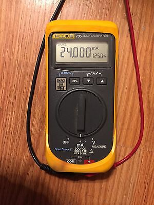 Fluke 705 Loop Calibrator 28V 24mA Amp 0.025% Accuracy (Source,Simulate,Measure)