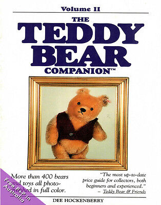 NEW The Teddy Bear Companion Volume 2 by Dee Hockenberry: Collectors Item