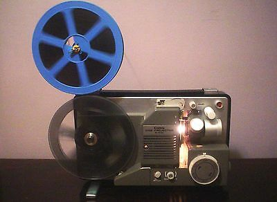 CANON S-400 SUPER 8 STAND 8mm MOVIE PROJECTOR ADJ SPEED