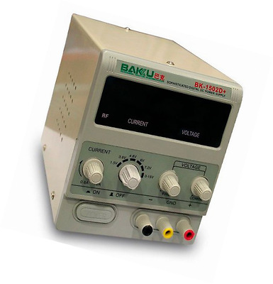 Adjustable DC Regulated Bench Power Supply BAKU-1502D+