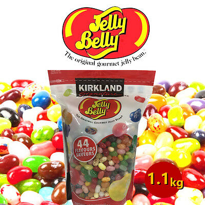 Jelly Belly Beans 44 Flavours - 1.1kg Bag Kirkland Signature