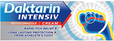 Daktarin Intensiv Cream Rapid Relief Athletes Foot (15g)