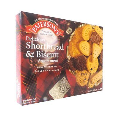 Paterson's - Shortbread and Biscuit Assortment - 400g Box