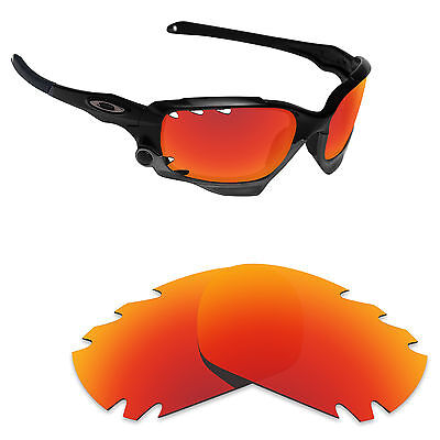 fc78196d454 Hawkry Polarized Replacement Lenses for-Oakley Jawbone Vented Orange Red  Mirror