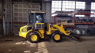 2003 JCB 407B ZX Compact wheel loader AC/Heat