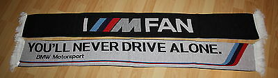 Original BMW M Motorsport DTM Fan Schal M Power NEU