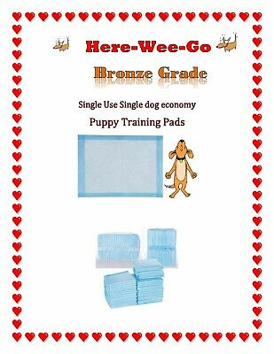 17x24 Bronze Dog Puppy Pet Housebreaking Pad, Pee Training Pads,Underpad SAMPLES