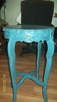 Antique Carved Accent Table
