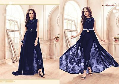 Bollywood Indian Anarkali Suit Ethnic Salwar Kameez Designer Pakistani dress new