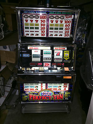 Igt - Slot Machine - Igt S+ - Perfect 10    - 2  Coin