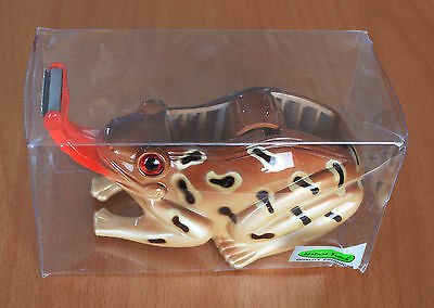 Nature Track Frog Toad Clear Scotch Tape Dispenser BRAND NEW