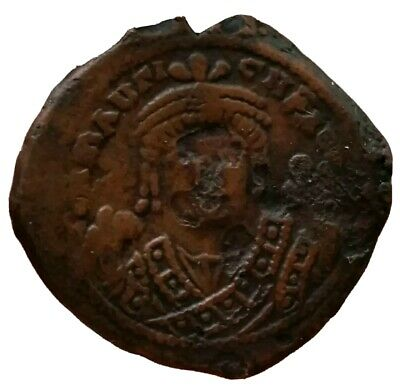 MAURICE TIBERIUS 582-602 -Large M, THEOPOLIS / ANTIOCH  MINT