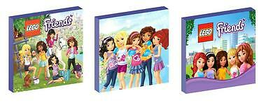 Lego Friends Canvas  Art Blocks/ Wall Art Plaques/pictures