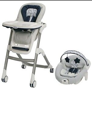 Graco Sous Chef 5-in-1 Seating System High Chair Arcadia  new