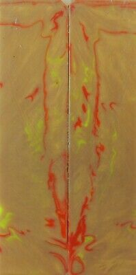 """Alumilite One of a Kind (2 pc) Knife Scales 1/8"""" x 1 1/2"""" x 6"""" - 7618"""