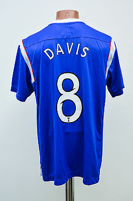 Glasgow Rangers Scotland 2011/2012 Home Football Shirt Jersey Umbro Davis #8
