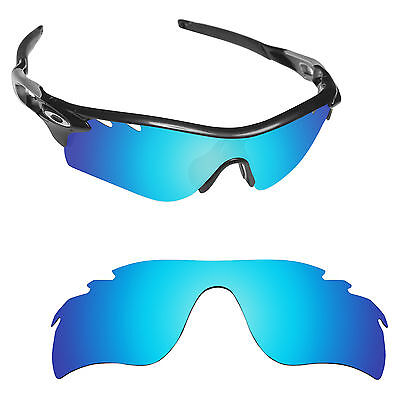 Hawkry Polarized Replacement Lenses for-Oakley RadarLock Path Vented Ice Blue