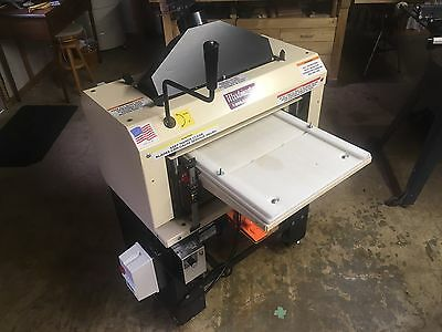"""Woodmaster 18"""" Planer W-718 With Pro Pack Molding Drum Sanding Sawing Planing"""