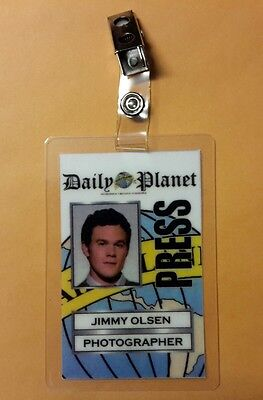 Superman Smallville ID Badge - Jimmy Olsen Photograher costume prop cosplay