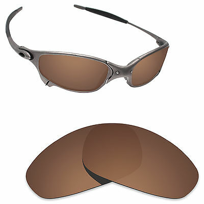 94fc3e534a Hawkry Polarized Replacement Lenses for-Oakley Juliet Sunglass Bronze Brown
