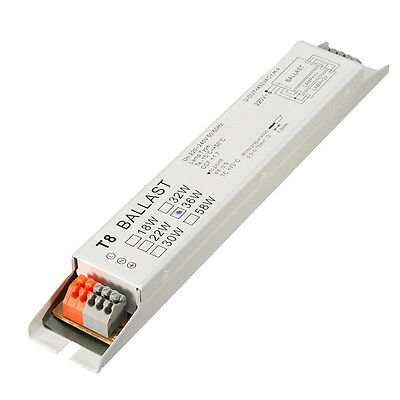 AC 220-240V 2x36W Wide Voltage T8 Electronic Ballast Fluorescent Lamp Balla