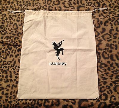 CHATEAU MARMONT Hollywood hotel California mascot cloth Laundry Bag