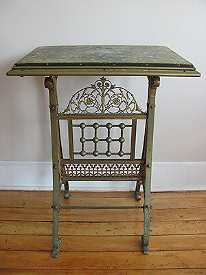 Antique Charles Parker Aesthetic period brass table