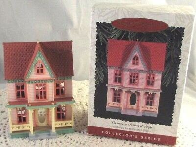 Hallmark Ornament Victorian Painted Lady #13 In Nostalgic Houses Shops Series