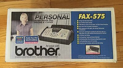 Brother Fax-575 Plain Paper Quick Scan Fax Phone Copier