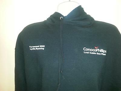 Men's-CONOCOPHILLIPS-LYSITE-WYOMING-Lost Cabins Plant-XL-SWEATSHIRT-HOODIE
