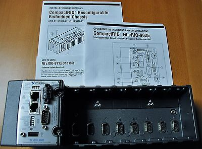 National Instruments NI cRIO-9025 Real Time Controller With NI 9118 I/O Chassis
