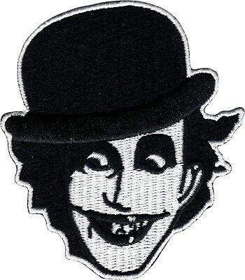 39209 Adicts Black White Face Punk Rock Music Band Embroidered Iron On Patch New