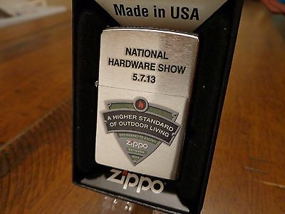 National Hardware Show 2013 Higher Standard Salesman Sample Zippo Lighter Mint