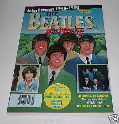 The Beatles Forever John Lennon 1940-1980 Magazine