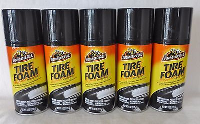 5 Armor All Tire Foam Protectant 4 Oz