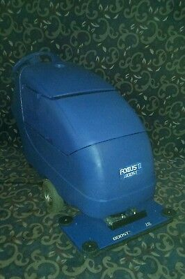 """Clarke Focus Boost 28"""" vibrating floor scrubber with new batteries FREE shipping"""