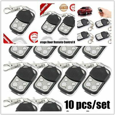 LOT Universal Garage Door Remote Control Key Fob 433mhz Gate security 433MHz SX
