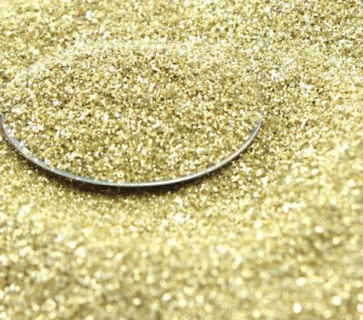 Bright Gold - Glass Glitter - 311-9-009- Real Glass - Imported  German Glitter