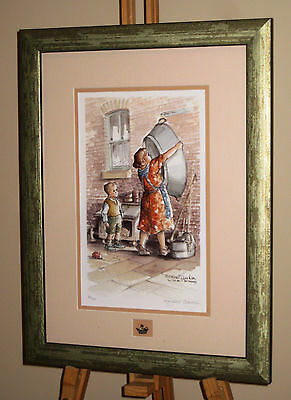 MARGARET CLARKSON Signed Limited Edition Print 'It Must Be Friday' Northern Art